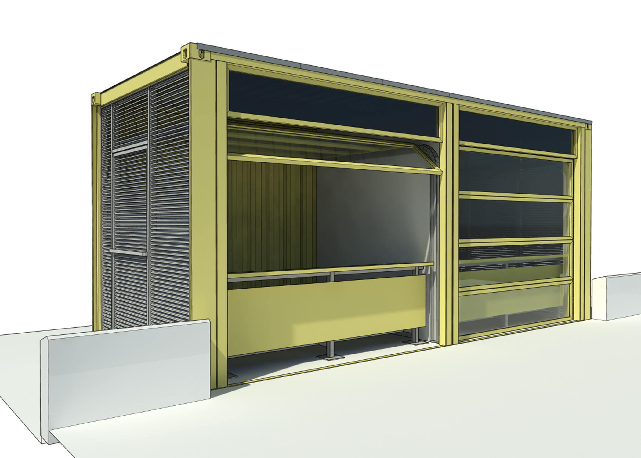 Portable Press Boxes : Modular product design fabricate innovate